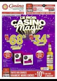 Prospectus Supermarchés Casino BESANCON Place de la Bascule : Le mois Casino magic