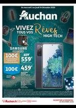 Prospectus Auchan : Vivez tous vos Rêves High Tech