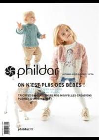 Prospectus Phildar Courbevoie : Tricotez Bébés