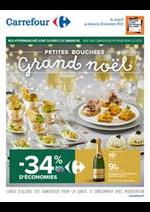 Promos et remises Carrefour : Petites bouchées Grand Noël
