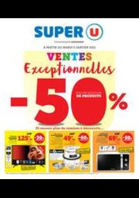 Prospectus Super U CHAMPAGNOLE : VENTES EXCEPTIONNELLES