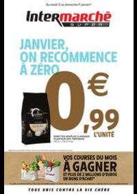 Prospectus Intermarché Super Morez : JANVIER, ON RECOMMENCE À ZÉRO