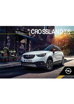 Guides et conseils Opel : Crossland X