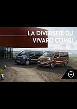 Guides et conseils Opel : Vivaro Combi