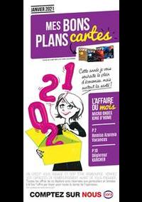 Bons Plans Cora PUBLIER - AMPHION-LES-BAINS : Mes bons plans cartes