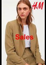 Catalogues et collections H&M : Sales