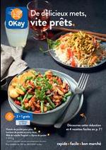Prospectus OKay Supermarchés : De délicieux mets, vite prêts