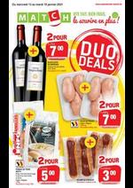 Promos et remises Match : Duo Deals