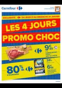 Prospectus Carrefour MARGENCEL : LES 4 JOURS PROMO CHOC