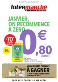 Prospectus Intermarché Super Allinges : JANVIER, ON RECOMMENCE À ZÉRO