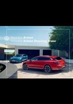 Prospectus Volkswagen : Volkswagen Arteon