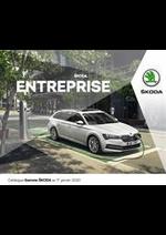 Promos et remises  : Catalogue Škoda Entreprise