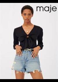 Prospectus Maje PARIS 21-25 cours de Vincennes : Tops & Chemises Femme