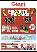 Prospectus Géant Casino : Priorité aux promos