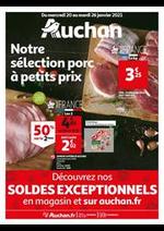 Prospectus Auchan : Notre sélection Porc à petits prix