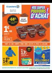 Prospectus E.Leclerc Rosendael - Dunkerque : Vos super pouvoirs d'achat!