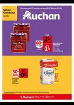 Menus Auchan : Les bons plans du week-end