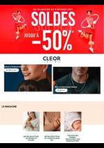 Prospectus Cleor : Soldes