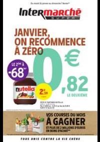 Prospectus Intermarché Super Douvaine : JANVIER, ON RECOMMENCE À ZÉRO