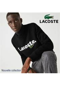 Prospectus Lacoste Paris 17 rue Vavin : Nouvelle collection