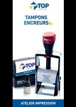 Services et infos pratiques Top office : Catalogue Tampons Encreurs