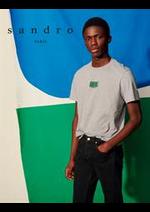 Prospectus Sandro : Nouvelle Collection / Homme