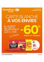 Prospectus Carrefour : Carte Blanche à vos envies