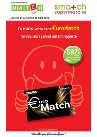 Prospectus Match DINANT : Folder Match