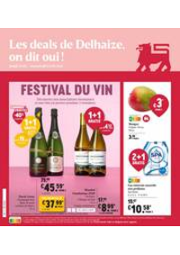 Prospectus Supermarché Delhaize Epinois : Nouveau: Promotion de la semaine