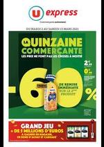 Prospectus U Express : LA QUINZAINE COMMERÇANTE