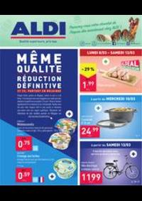 Prospectus Aldi WAREMME : Folder Aldi