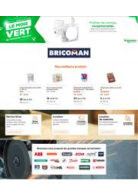 Prospectus Bricoman MONTBELIARD EXINCOURT : Le mois Vert