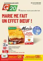 Prospectus G20 : Marie me fait un effet bœuf !