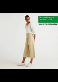 Prospectus United Colors of Benetton Namur : Nouvelle Collection / Femme