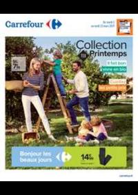 Prospectus Carrefour Drancy : Collection TEX Printemps