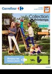 Prospectus Carrefour Montreuil : Collection TEX Printemps