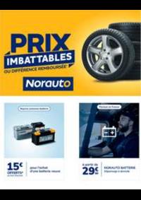 Prospectus Norauto MANTES LA VILLE : Prix imbattables