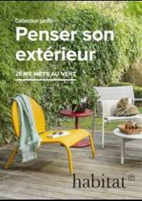 Prospectus Habitat PARIS 1ER 8 rue du Pont Neuf : Penser son extérieur