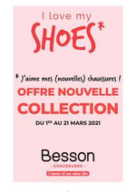 Prospectus besson : I love my shoes - Besson Chaussures