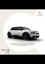 Promos et remises  : Citroën C4 Cactus Origins