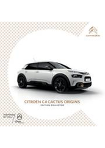 Prospectus Citroen : Citroën C4 Cactus Origins