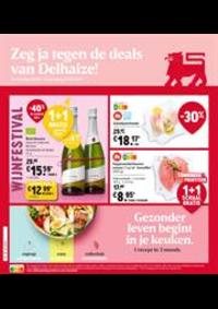 Prospectus Supermarché Delhaize Ninove : Folder Delhaize