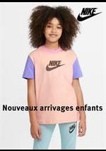 Prospectus Nike : Nouveaux arrivages enfants