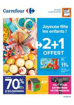 Prospectus Carrefour : Joyeuse fête les enfants !