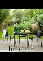 Prospectus Habitat : Printemps