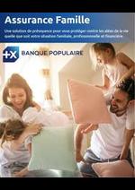 Services et infos pratiques Banque Populaire : Assurance Famille