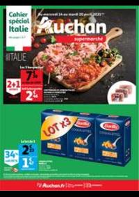 Prospectus Auchan Mulhouse : Italia !