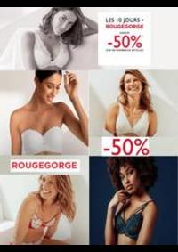 Promos et remises RougeGorge Lingerie ILLZACH (MULHOUSE) : Les 10 jours -50%