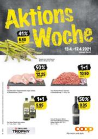 Prospectus Coop Supermarché Aarberg : Aktions Woche