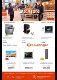 Prospectus Boulanger Englos : Les jours B